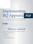 Implementing Requisition Approval