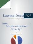 Lawson Security