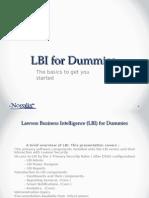 LBI for Dummies