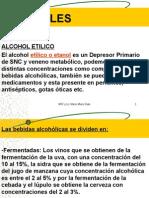 Alcoholes/ Análisis Toxicologico