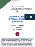 1997 Us Marine Corps Special Operations Skills Cqb Mco 202p