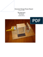 Electric Generator Design Project