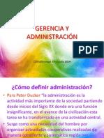 Gerencia y Administración Sesion 1