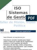 Taller Misión, Visión y Política