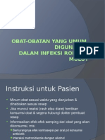 Obat-obatan Inf. Rm