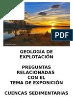 Geología de Explotación Cuencas Sedimentarias