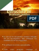 estructura de un articulo cientifico