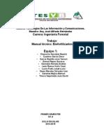 Manual Tecnico Bioles