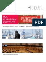 The Eurozone Crisis and the Democratic Deficit