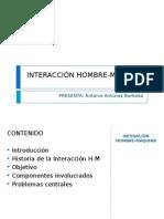 INTERACIÓN HOMBRE-MÁQUINA