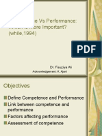 Competence Vs Performance.ppt
