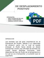 Expo Bombas de Desplazamiento Positivo