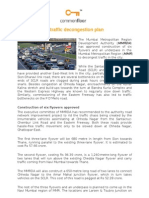MMR Gets New Traffic Decongestion Plan
