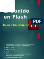 El Sonido en Flash.