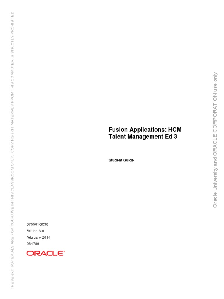 fusion hcm talent management student guide cloud computing rh pt scribd com r12 oracle inventory management fundamentals student guide r12 oracle inventory management fundamentals student guide pdf