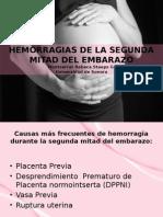 Hemorragias 2da Mitad Del Embarazo