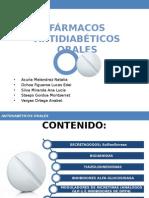 Hipoglicemiantes Orales; Generalidades.