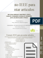 Informe tipo IEEE