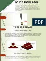 Proceso de Doblado