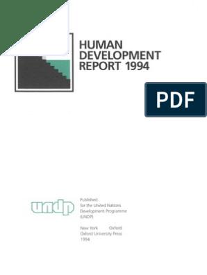 Human Development | Human Security | Aids