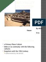 Indus Valley Civilization by Alina Hasan VI A