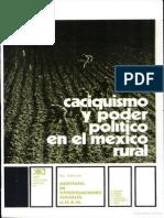 Casiquismo y Poder Politico en Mexico Rural