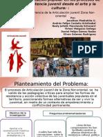 Educación popular en procesos de resistencia juvenil desde el arte y la cultura
