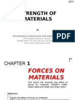 Strength of Materials Ch 1