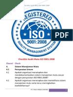 checklistauditmutuiso90012008-140908213819-phpapp02