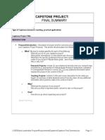 Capstone Final Summary.doc