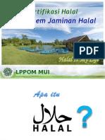 Sertifikasi Halal Dan SJH