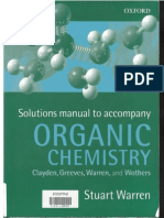 Organic Chemistry Clayden Solutions Manual