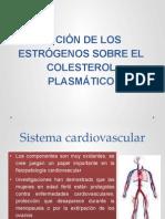 Acción de Los Estrógenos Sobre El Colesterol Plasmático