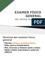 2. Examen Físico General