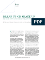 Break Up or Shake Up