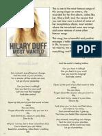 Hilary Duff  ok