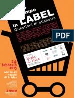 Label -  Questioni di etichetta