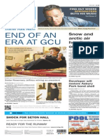 Asbury Park Press front page Thursday, Feb. 12 2015