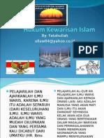 Bahan Kuliah Hukum Kewarisan Islam