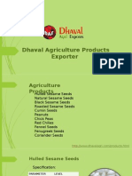 Dhaval Agriculture Products Exporter