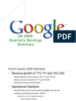 2009Q4 Google Earnings Slides