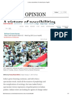 A Victory of Possibilities _ the Indian Express _ Page 99