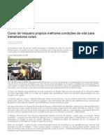 Curso de Vaqueiro Propicia Melhores Condições de Vida Para Trabalhadores Rurais __ Governo Do Estado de Mato Grosso