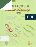 PREDI-evaluacion Del Discurso