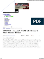 Italian Icons of Metal _ Metalitalia