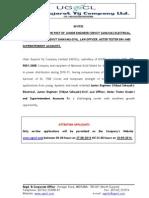 ADD Various Website Advt 2014 15