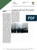 Docente morto, inquirenti sulle tracce di un tunisino - Il Corriere Adriatico dell'11 febbraio 2015