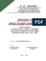 58954_Studiu Evaluare Adecvata - Cariera Costeiul de Sus