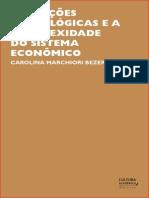 Inovacoes Tecnologicas e a Complexidade Do Sistema Economico