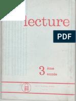Lecture 3eme Annee d'Enseignement Primaire - Algérie